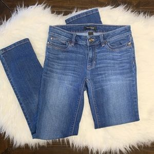 White House Black Market Denim Slim Leg Jeans